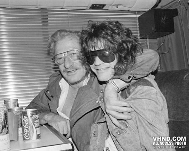 Eddie & his father Jan Van Halen