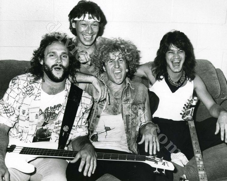 Van Halen 1986 by David McGough