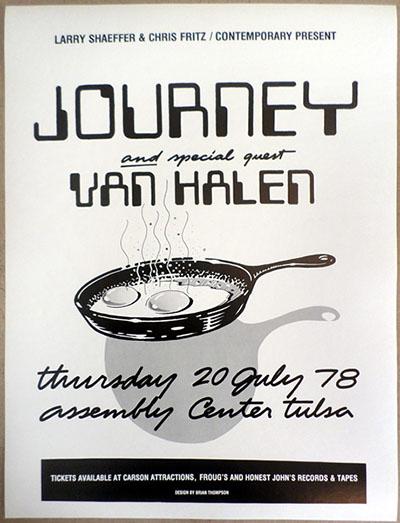 1978-Infinity-journey-van-halen-concert-promo-flyer-tulsa