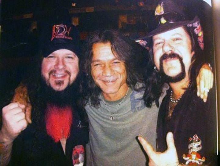 Dimebag-Darrell-Vinnie-Paul-Eddie-Van-Halen-Pantera-Abbott