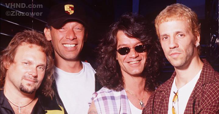 Van Halen with Gary Cherone, 1998